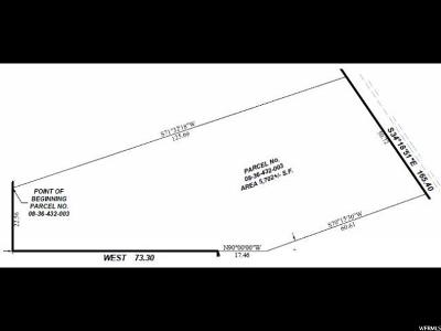 Salt Lake City Residential Lots & Land Under Contract: 277 N Almond St W