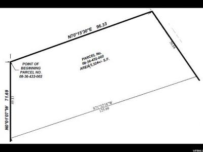 Salt Lake City Residential Lots & Land Under Contract: 245 N Almond St E