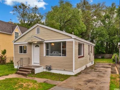 Ogden Single Family Home Under Contract: 361 E 14th S