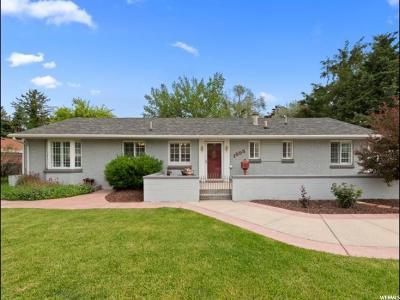 Holladay Single Family Home Under Contract: 1555 E Winward Dr S