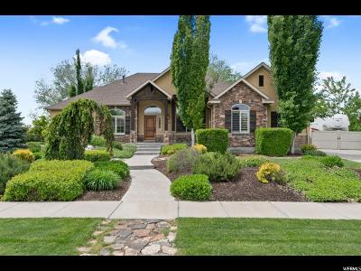 Kaysville Single Family Home Under Contract: 272 Willowmere Dr