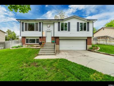 West Jordan Single Family Home For Sale: 5137 W Fuchsia Dr S