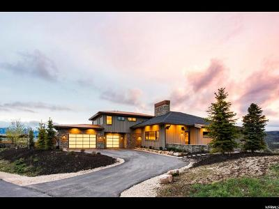 Park City Single Family Home For Sale: 7901 West Hills Trl #LOT 56