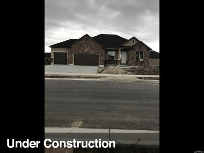 West Jordan Single Family Home Under Contract: 8537 S 5750 W