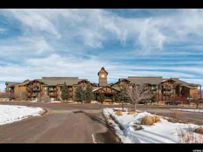 Wasatch County Condo For Sale: 1364 W Stillwater Dr #1066