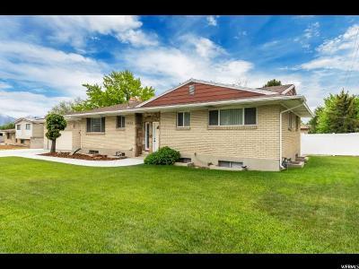 West Jordan Single Family Home For Sale: 2663 W 7000 S