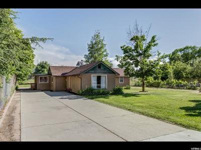 Draper Single Family Home Under Contract: 656 E Pioneer Rd