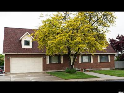Orem Single Family Home For Sale: 1007 W 1770 N