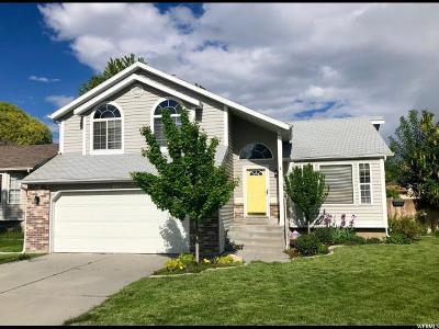 West Jordan Single Family Home For Sale: 6313 S April Meadows Dr W