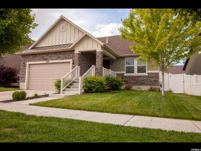 South Jordan Single Family Home For Sale: 3646 W Keyworth Dr #404