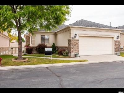 West Jordan Single Family Home For Sale: 1136 W Old Hollow Way #220