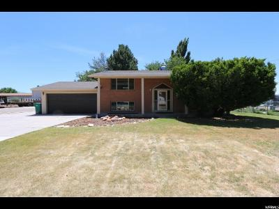 Clearfield Single Family Home For Sale: 369 W 300 N