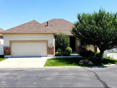 South Jordan Single Family Home For Sale: 1418 W English Holly Ct