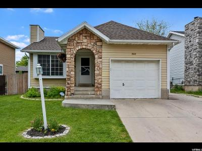 West Jordan Single Family Home For Sale: 3105 W 8525 S