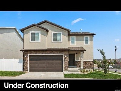 West Jordan Single Family Home Under Contract: 6847 W 7855 S