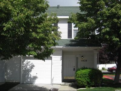 Tooele County Townhouse Under Contract: 1938 N 20 W