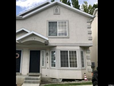 Spanish Fork Townhouse Under Contract: 1219 E 540 N