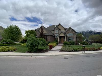 Springville Single Family Home Backup: 1147 S 2200 E. (Camels Back Dr) E