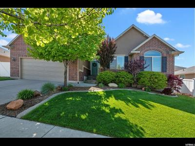 Riverton Single Family Home Under Contract: 13758 S Buckeye View Way