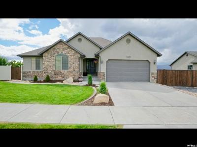 Payson Single Family Home Under Contract: 1462 Riley Dr