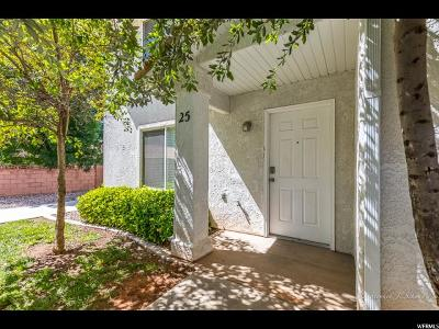 St. George Townhouse Under Contract: 1301 W Indian Hills Dr #25
