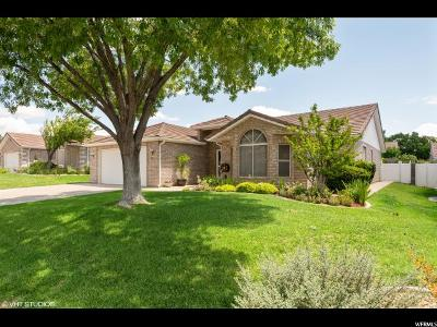St. George Single Family Home Under Contract: 1134 E 900 S #51