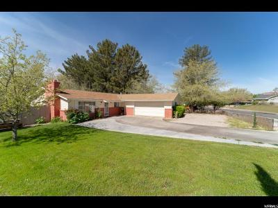 St. George Single Family Home Under Contract: 1241 W 540 N