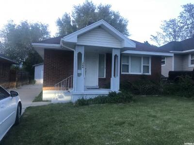 Ogden Single Family Home Under Contract: 1264 23rd St