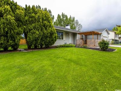 Riverton Single Family Home Under Contract: 12115 S 2160 W