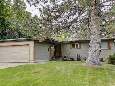 Holladay Single Family Home For Sale: 2980 E 4430 S