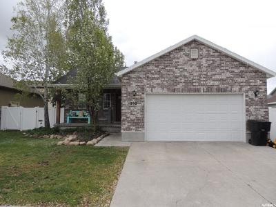Wasatch County Single Family Home Under Contract: 292 E Acord Way S