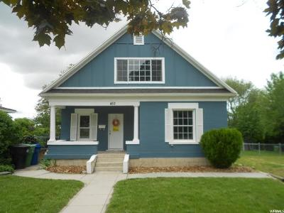 Brigham City Single Family Home Under Contract: 453 N 200 W