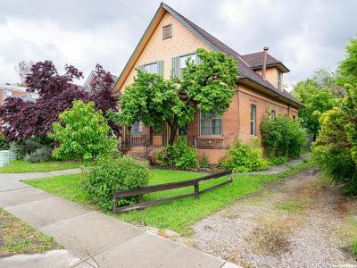 Salt Lake City Multi Family Home Under Contract: 1122 E 500 S