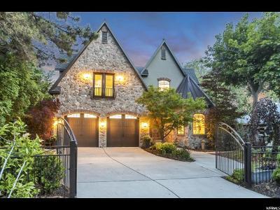 Holladay Single Family Home For Sale: 3066 E Morningside Dr