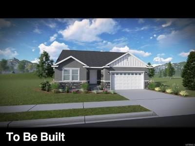Herriman Single Family Home For Sale: 12456 S Clipper Peak Dr #801