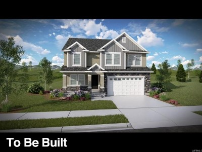 Herriman Single Family Home Under Contract: 12484 S Clipper Peak Dr #805