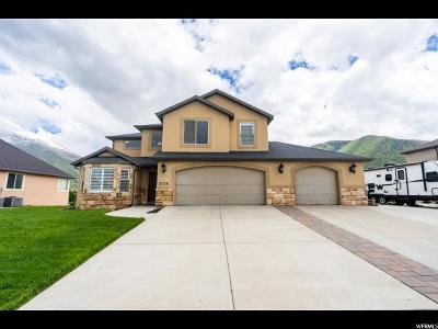Spanish Fork Single Family Home For Sale: 2736 E Canyon Crest Dr