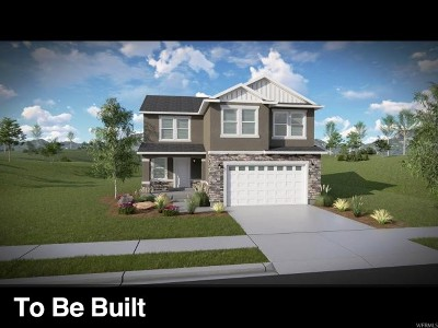 Herriman Single Family Home For Sale: 12492 S Clipper Peak Dr #806