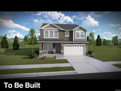 Herriman Single Family Home For Sale: 12498 S Clipper Peak Dr #807