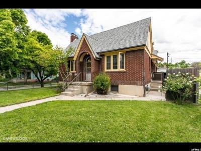 Salt Lake City Multi Family Home Under Contract: 951 E Garfield Ave