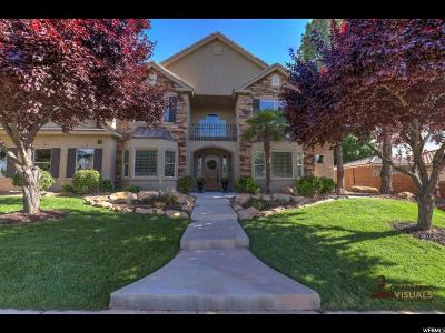 St. George Single Family Home Under Contract: 1736 Flagstone Dr