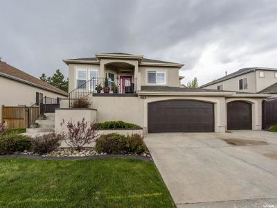 Draper Single Family Home For Sale: 1860 E Aspen Leaf Pl