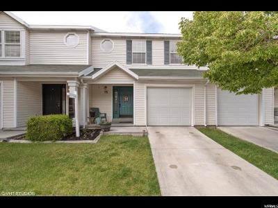 Tooele County Townhouse Under Contract: 76 W 1970 N