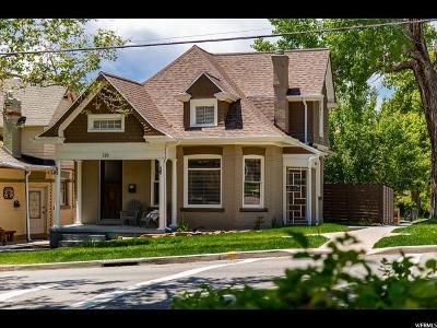 Salt Lake City Multi Family Home For Sale: 139 K Stre