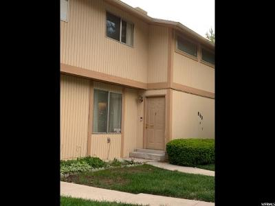 Davis County Townhouse Under Contract: 860 S 1625 E #E