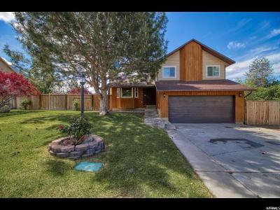 Single Family Home Under Contract: 1382 E 850 S