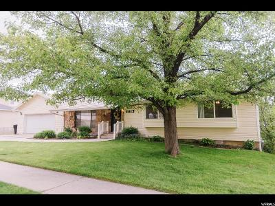 Provo Single Family Home Under Contract: 4013 N Foothill Dr