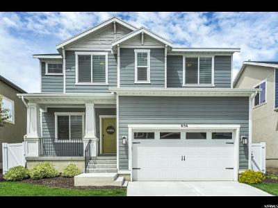 American Fork Single Family Home Under Contract: 656 S Academy Dr E #5
