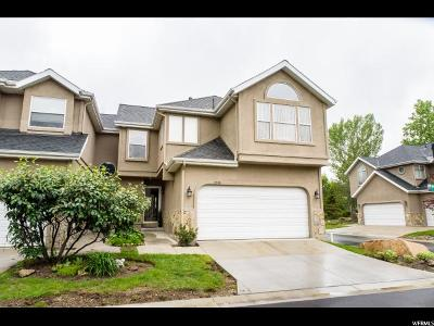 Cottonwood Heights Condo Under Contract: 3548 E Wasatch Hills Ln Ln S
