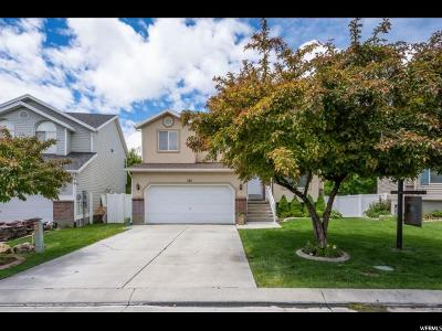 Stansbury Park Single Family Home Backup: 143 Crystal Bay Dr